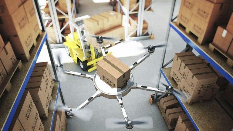 by adopting green logistics