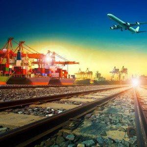 import export and transportation theme