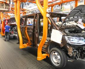 Volkswagen plants resume production
